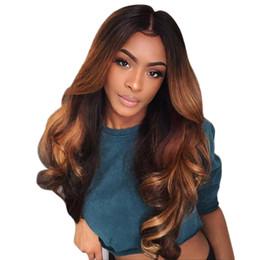 ombre weave 2019 - 100g bundle Brazilian Ombre Body Wave Hair 3 Bundles Hair Blonde Ombre Virgin Hair Extensions T1b 4 30 Color Free Shippi