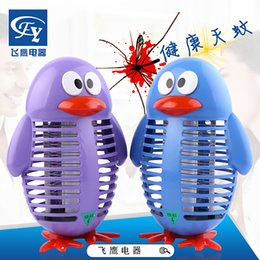 $enCountryForm.capitalKeyWord NZ - Household outdoor miewenying electronic insect repellent blue purple Cartoon Penguin shock mosquito lamp
