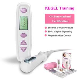 Vente en gros TENS Kegel Exerciseur Plancher Pelvien Muscle Stimulateur Vaginal Électrique Massage Stimulation Toner EMS Formateur Serrage CE Médical