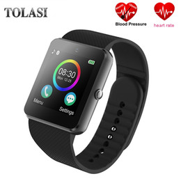 Smart Watch Phone Touch Screen Australia - 2018 New Smart Watch Bluetooth Smartwatch GT08 Phone Watch Camera Touch Screen Support Pedometer TF SIM Card for Android iOS