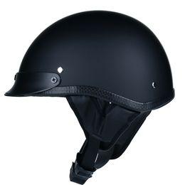 $enCountryForm.capitalKeyWord NZ - WLT retro half face motorcycle helmet cruiser retro e casque moto helmet 54-60cm universal cool male