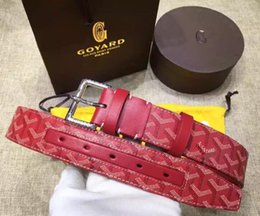 Best Leather Belts For Men NZ - Best quality designer brand name fashion Men's Business Waist Belts Automatic buckle Genuine Leather belts For Men 105-125cm free shipping