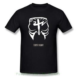 Painting Faces UK - Fashion Mens Printed Tech N9ne Face Paint Logo Graphic T-shirt Black