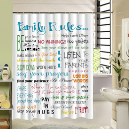 Custom Print Shower Curtain Canada