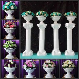 Wedding led floor light online shopping - 36 Flower Head for one Bouquet Fashion Wedding Roman Column Road Leads Flowers For Wedding Backdrop Decorations