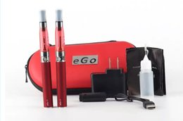 ce5 e cigarette kits NZ - ego CE5 double kit 2 Electronic Cigarette kits CE5 Atomizer 650mah 900mah 1100mah 2 e Cigarette in Zipper carrying Case DHL Free Shipping