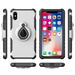 capas de telefone iphone6s venda por atacado-Novo kickstand tpu pc armadura case para iphonex iphone7 plus mobile phone casos de proteção para iphone6s plus