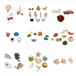 a1 alloys NZ - Multi style fashion cute brooch, Christmas gifts, children's badges, ladies brooch in stock free shipping A1