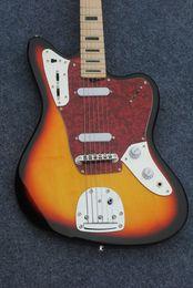 $enCountryForm.capitalKeyWord Canada - China Guitars Newest Sunburst Jaguar Electric Guitar Aged High Quality Wholesale Best Selling