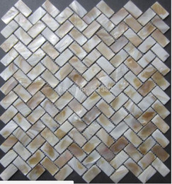 $enCountryForm.capitalKeyWord Australia - New color mosaic tile 15X30MM mother of pearl tiles, Natural shell mosaics floor tiles,background wall;kitchen backsplash tiles