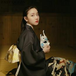 japanese geishas 2018 - Japanese kimono traditional dress cosplay female yukata women haori Japan geisha costume designs obi kimonos woman 2018