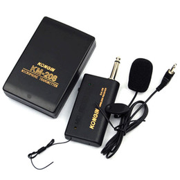 $enCountryForm.capitalKeyWord NZ - Wholesale-2017 New High Quality Mini Wireless Lapel Clip-On Microphone System Mic Set Conference Microphone Multi-Microphone Kits