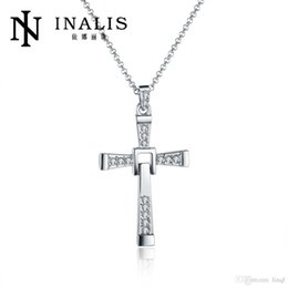 $enCountryForm.capitalKeyWord NZ - Free Shipping The Fast and the Furious 7 cross gilded Necklace