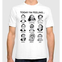 857a468de Nicolas Cage Faces T-Shirt Men's Women's Funny New Cotton Tee S-7XLfear  cosplay liverpoott tshirt