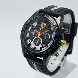 579272dd401b Relojes de pulsera online-Venta de todas las funciones 40 mm cronógrafo de  silicona cuarzo