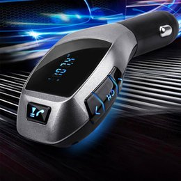 $enCountryForm.capitalKeyWord NZ - Brand New Bluetooth Car FM Transmitter Modulator Car mp3 Player Wireless Handsfree Music Audio with USB interface Car Charger