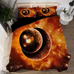 $enCountryForm.capitalKeyWord Australia - 3D Bedding Sets Sci-Fi Duvet Covers New Style Bed Sheets Polyester Printing Stare Was US Queen King Size 3pcs