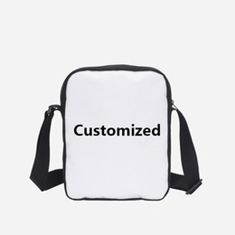 ff04d2825d Hynes Eagle Custom Your Image Name Logo Mini Messenger Bag Crossbody Bags  Small Portable Shoulder Bags Male   Female Bolsa