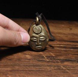 Honest Tibetisches Horn Kupfer Messing Bronze Other Asian Antiques