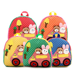 $enCountryForm.capitalKeyWord UK - Baby Children Kid Zoo Animal print Backpacks Toddler Kid School Bags Kindergarten Cartoon Travel Bag Backpacks A027