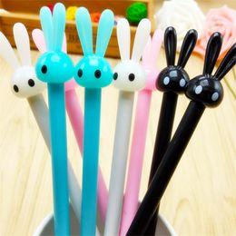 $enCountryForm.capitalKeyWord Canada - 4Pcs Set Rabbit Gel Pens Set Kawaii School Supplies Office Stationary Photo Album Kawaii Pens Stationery Gel Ink Pen