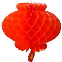 $enCountryForm.capitalKeyWord UK - 20pcs traditional Honeycomb Plastic New Year Chinese Spring Festival Decoration Red Lantern