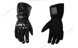Leather Race Gloves Motorcycle NZ - Pro-biker Top motorcycle racing gloves outdoor sports gloves Short paragraph gloves leather gloves