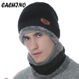 fa32b1aa745 CACHINO Winter Hats Skullies Beanies Hat Winter Beanies For Men Women Wool  Scarf Caps Balaclava Mask Gorras Bonnet Knitted Hat