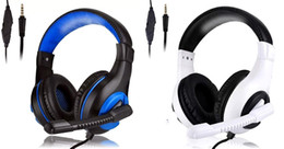 Wholesale good gaming computers for sale – custom Top seller Gaming Headsets Headphone for PC XBOX ONE PS4 SMARTPHONE Headset headphone For Computer Headphone good