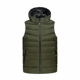 $enCountryForm.capitalKeyWord Canada - 2018 New Men Jackets Sleeveless Vests Large Size M-3XL Winter Thick Warm Man Casual Fashion Vest & Waistcoat Cotton Padded