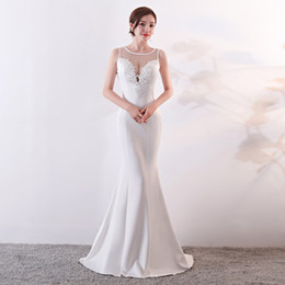 31c3287f325 Lace Mesh V-Neck 2018 New Women s Elegant Long Gown Party Prom For Gratuating  Date Ceremony Gala Evening Dresses A18