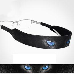 dc9ea74a100 Sports Eyeglass Strap NZ - fashion cat gato blue eye pupil Sports outdoor  play ball