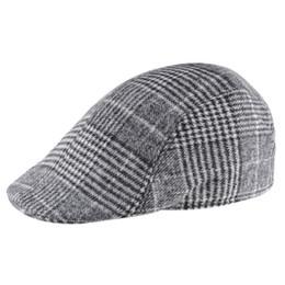 2017 primavera de alta calidad de sombreros de las boinas para los hombres 3b0ffe3d995