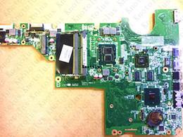 Hp Cq62 Laptop UK - 634649-001 for HP G42 CQ42 CQ62 laptop motherboard DAAX1JMB8C0 I3 CPU DDR3 Free Shipping 100% test ok