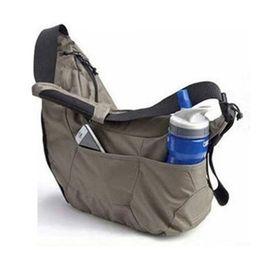 Passport Shoulder Bag NZ - Promotion Sales Genuine  Passport Sling SLR camera bag Travel Bag shoulder camera bag