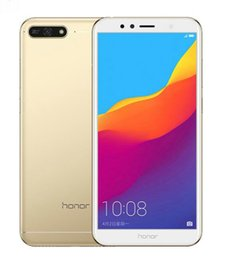 Chinese  Original Huawei Honor 7A Play Glob Firmware Octa Core 32GB Single Rear Camear Dual Rear Camear Android 8.0 5.7inch Unlocked Phones manufacturers