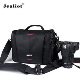$enCountryForm.capitalKeyWord UK - wholesale DSLR Camera Bag Fashion Polyester Shoulder Bag Photo lens Case for Canon Nikon Olympus Panasonic digital Video camera