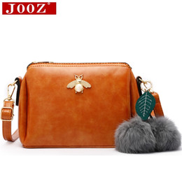 Shoulder JOOZ Vintage Waxing Leather Women Bags for Shell Clutch Bag small Women  Messenger Bags bolso mujer purseTotes adbaceaffe