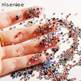 L'acrilico di alta qualità 1000PCS incantesimo lucido di scintillio DIY unghie / telefono cellulare / strumenti della decorazione del sacchetto dei vestiti