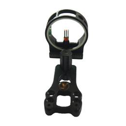 "$enCountryForm.capitalKeyWord UK - 1 PK Archery hunting Compound bow 3 pins bow sight 019"" optic fiber pin bow sight"