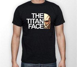 O Titan Face Attack em Titan Anime Unisex Tshirt T-Shirt Tee TODOS OS TAMANHOS venda por atacado