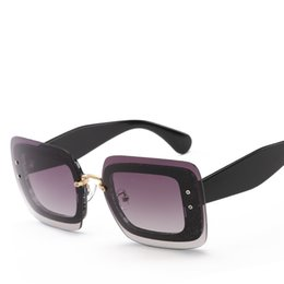 9c2295d574b Ce Sunglasses Men UK - Lexxoo Designer Floating Sunglasses Ladies Frameless  Over Sized Big Frame Rimless