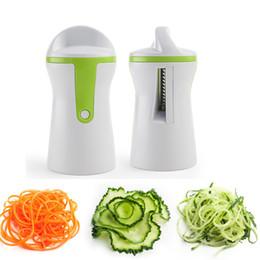 $enCountryForm.capitalKeyWord NZ - Vegetable Spiralizer Cutter Grater Kitchen Gadget Handheld Compact Veggie Spiral Slicer Noodles Zucchini Spaghetti Pasta Maker
