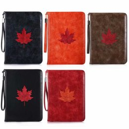 China Wallet Leather Australia - Luxury Tan Soft Leather Wallet Stand Flip Case Smart Cover With Card Slot for New iPad 9.7 2017 2018 Air 2 3 4 5 6 7 Air2