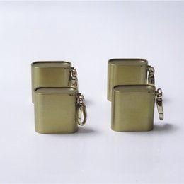 Cigarette stores online shopping - Newest Mini Brass Cigarette Cases Herb Bottle Storage Box Keychain Ring Portable Innovative Design Multiple Uses Store High Quality DHL Free