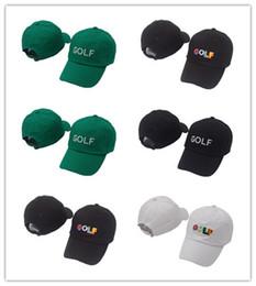 ae966060d36 Hot Cool Tyler The Creator Golf Hat - Black Dad Cap Wang Cross T-shirt Earl Odd  Future