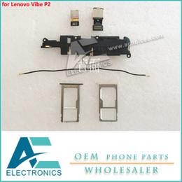 lenovo holder 2019 - for Lenovo Vibe P2 P2C72 P2A42 Back Camera Loud Speaker Buzzer Module SIM Slot Holder Tray Antenna Signal Accessory Bund