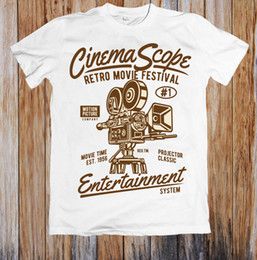 $enCountryForm.capitalKeyWord NZ - CINEMA SCOPE RETRO MOVIE FESTIVAL UNISEX T-SHIRT Mens 2018 fashion Brand T Shirt O-Neck 100%cotton T-Shirt