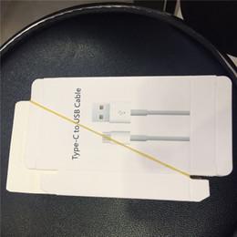 caja al por menor al por mayor !! para USB cargador de pared cable y cable de tipo C envío libre de DHL en venta
