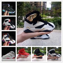 $enCountryForm.capitalKeyWord NZ - Online Sale Cheap New J7 Kids basketball shoes for Boys Girls sneakers Children Babys 7s running shoe Size 11C-3Y